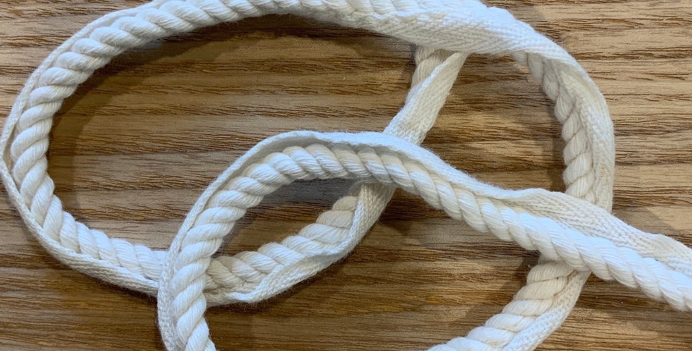 Pale Ivory Soft Cotton Piping Cord...