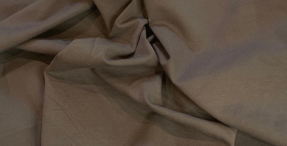 Khaki Ponte Knit Remnant