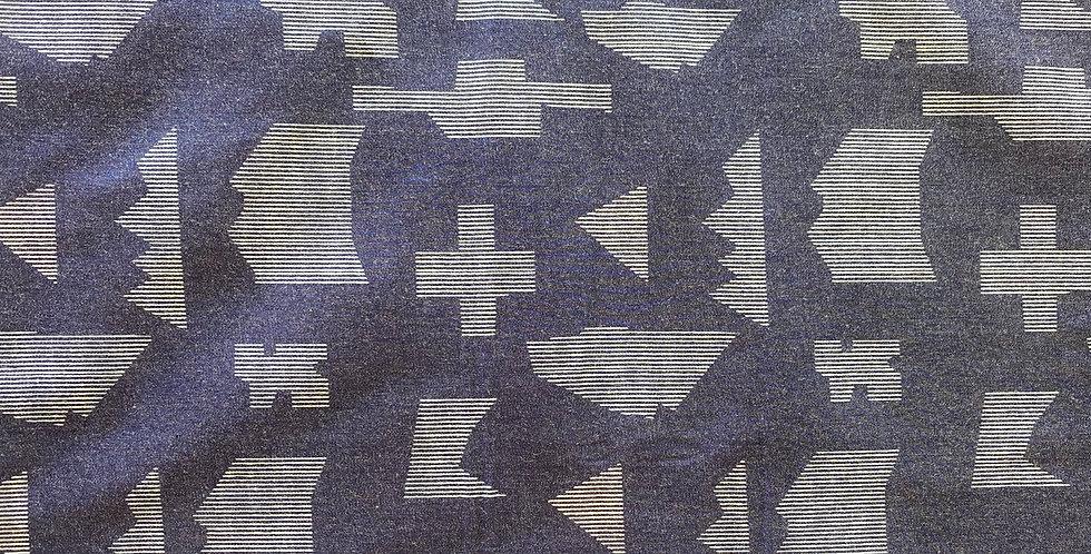 Art gallery fabrics puzzle sandblast denim