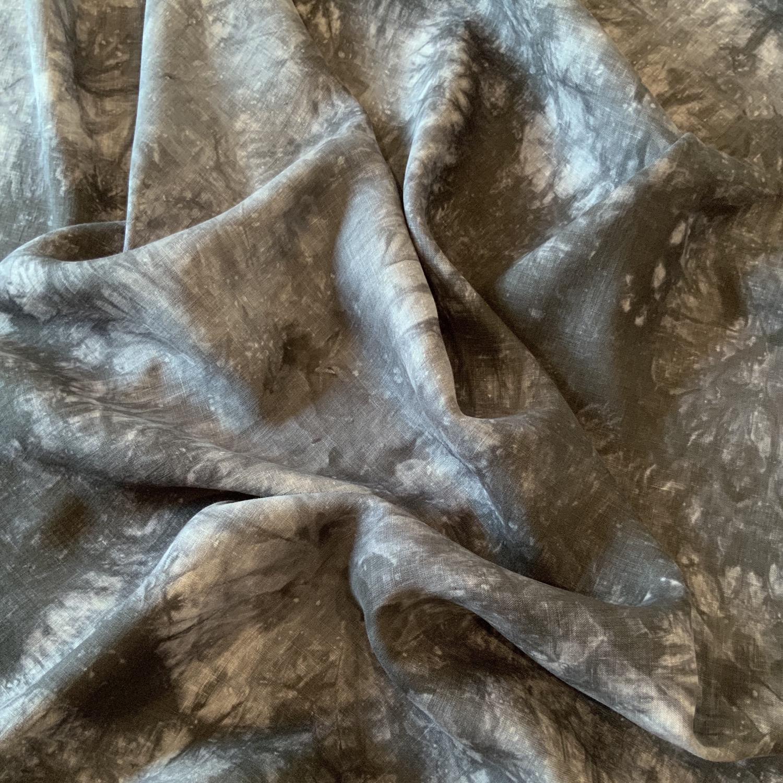Indie Tie Dye Lightweight Linen...