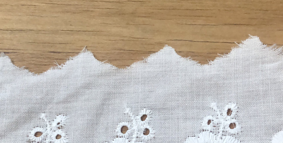 Prudence Broderie Lace Trim