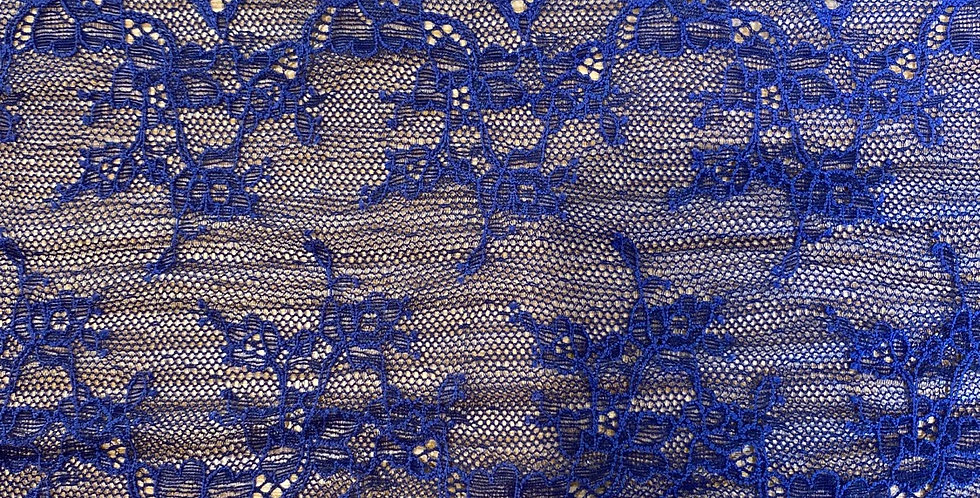 Nina navy stretch lace
