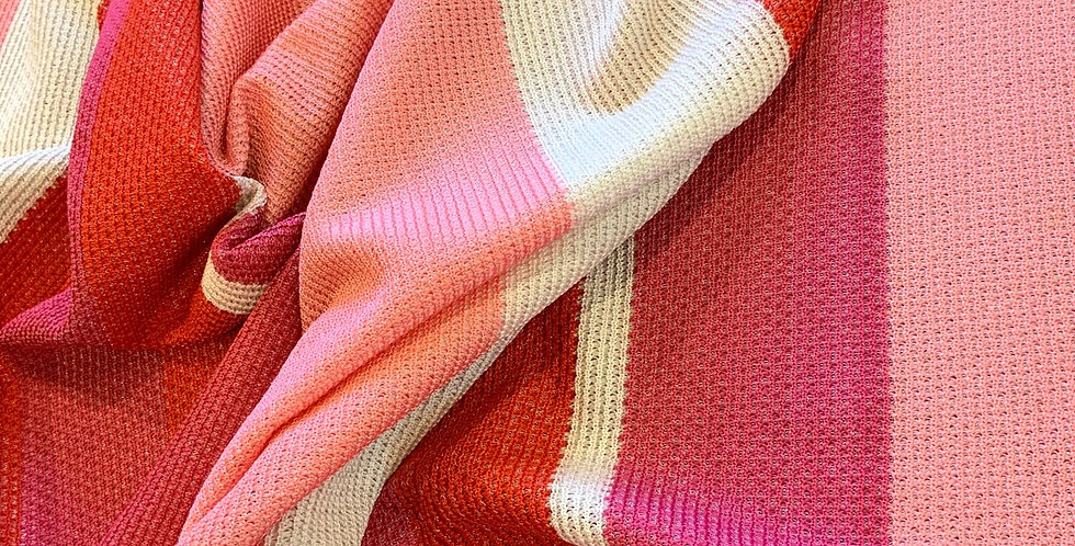 Textured Pink Candy Stripes....