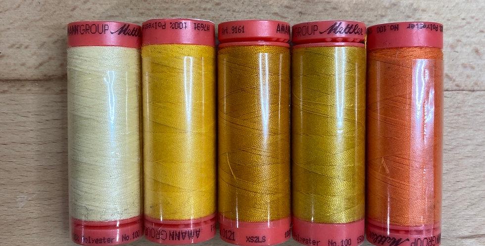 Metrosene Mixed Sunset Thread Pack #3