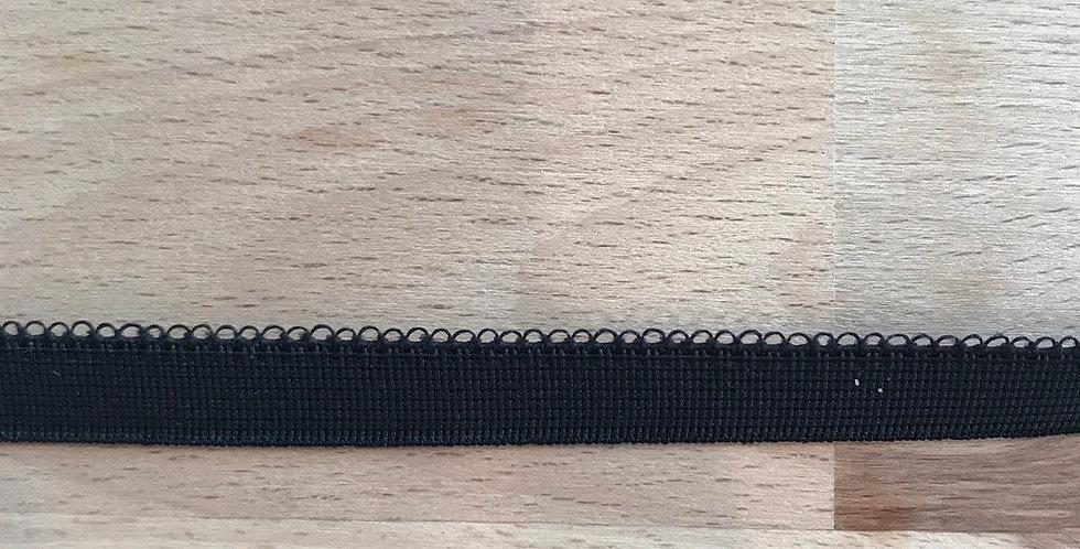 Black picot elastic