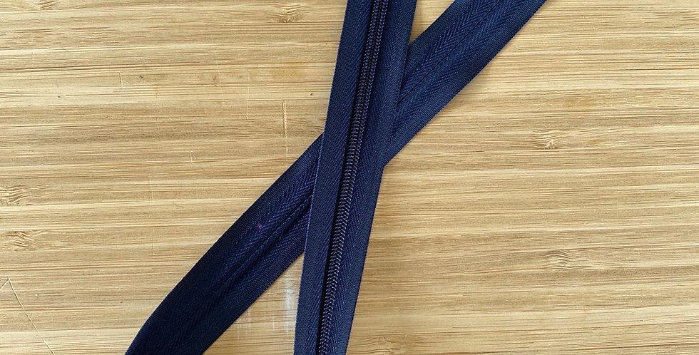 navy 55cm invisible zip