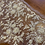 Thumbnail: Ivory Hand Beaded French Lace Off Cut #7008
