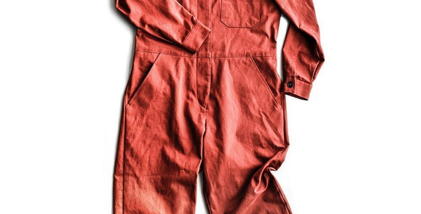 merchant and mills thelma flight suit printed pattern