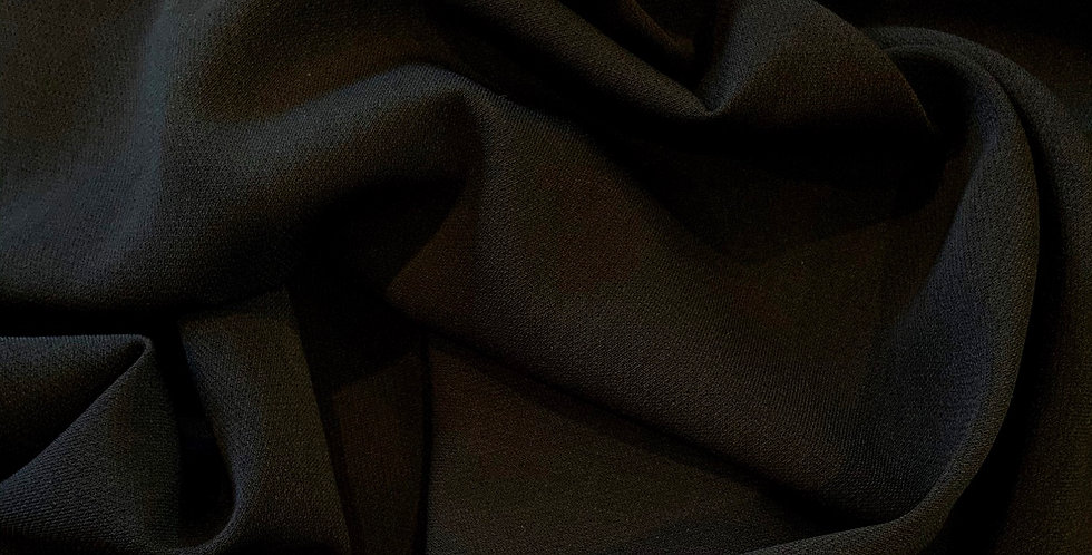 Black Ultra Light Polyester Suiting....
