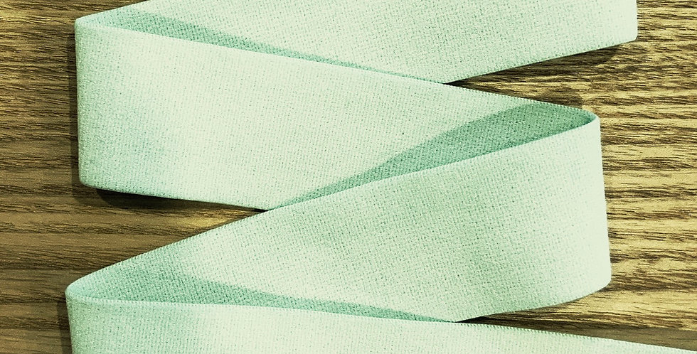 Mint Hand Dyed Matte Strapping Elastic...