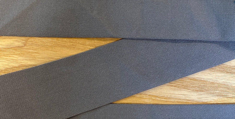 matte charcoal 4cm wide strapping