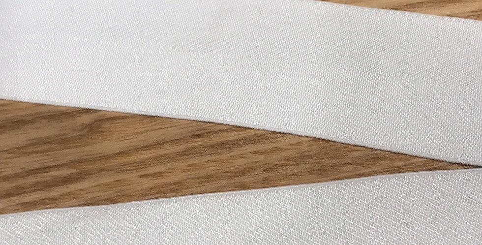 Ivory herringbone elastic