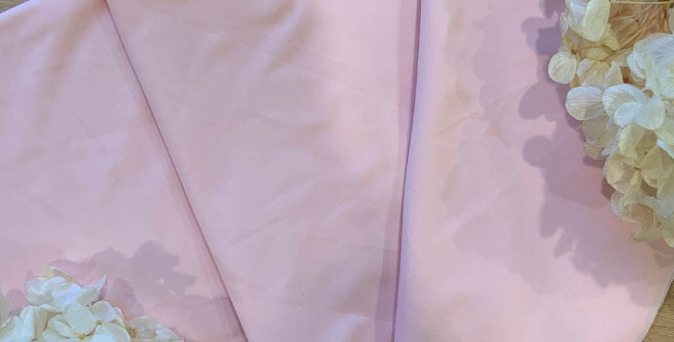 Pink Sorbet Silk Touch Lingerie Lycra 50cm Piece...