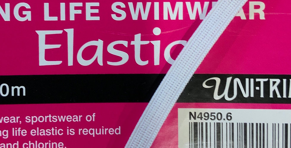 6mm Swimwear Elastic....