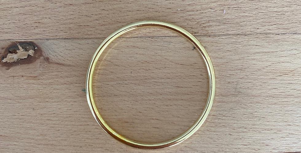 Gold metal O ring