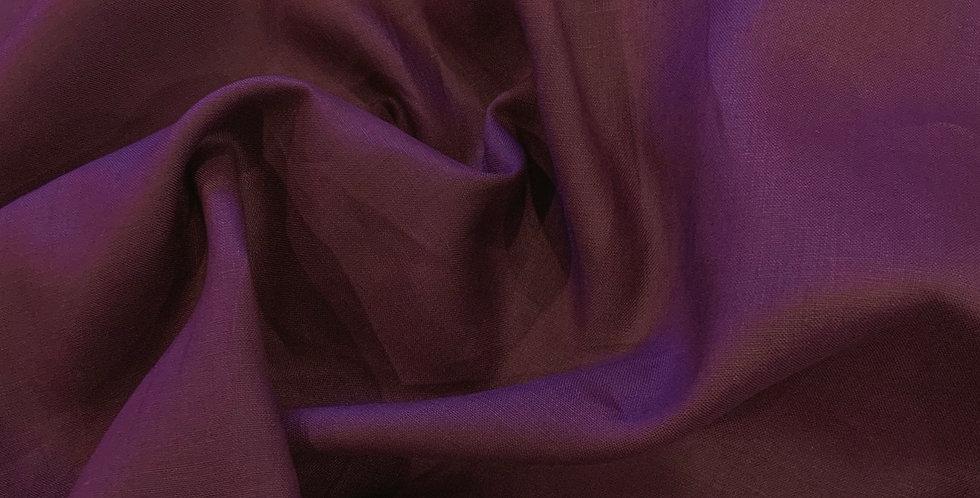 Eggplant Oeko-Tex Linen