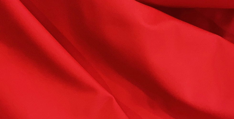 Bright Red Matte Lycra....