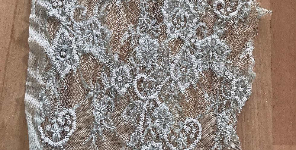 Seafoam lace piece #311
