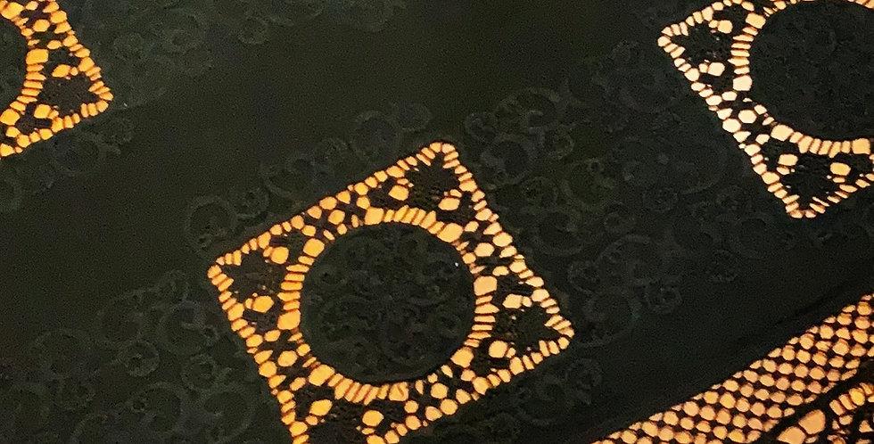 Bijou Black Embroidered Jersey...