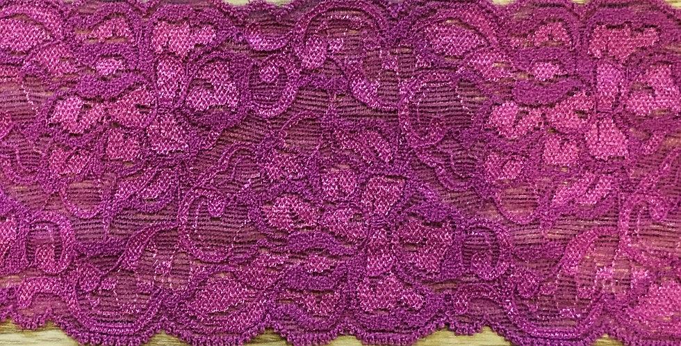 Antique Fuchsia Stretch Lace...