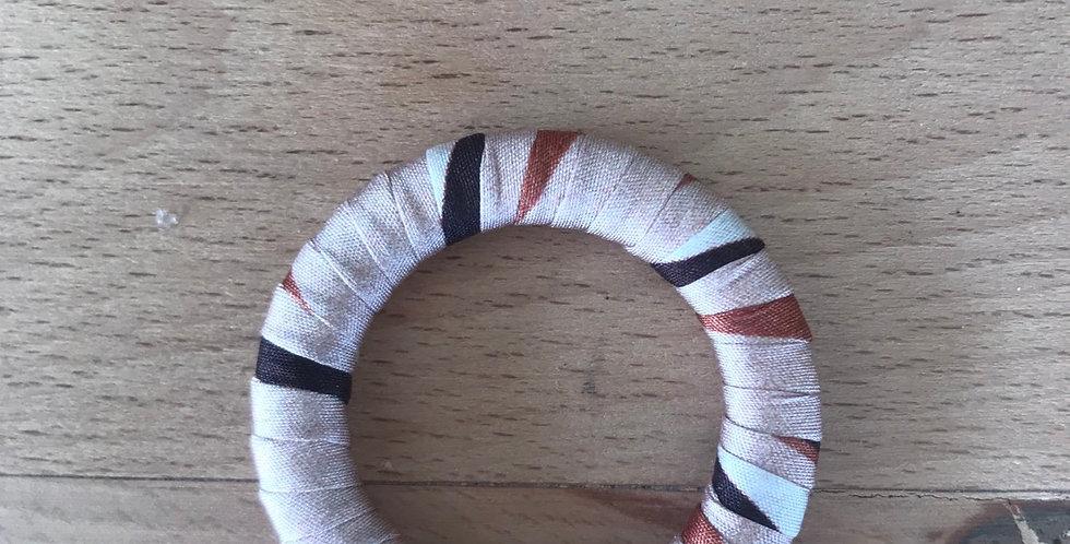 Autumn satin wrapped ring