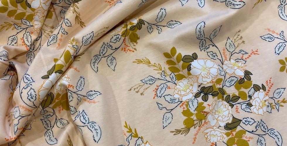 art gallery fabrics Elisas secret garden knit