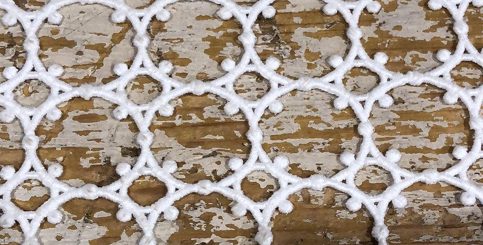 Vatican structured lace trim