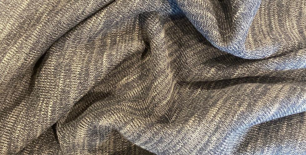 smokey blue marle knit