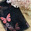 Thumbnail: Black Butterfly Garden Lingerie Tulle Small Cut...