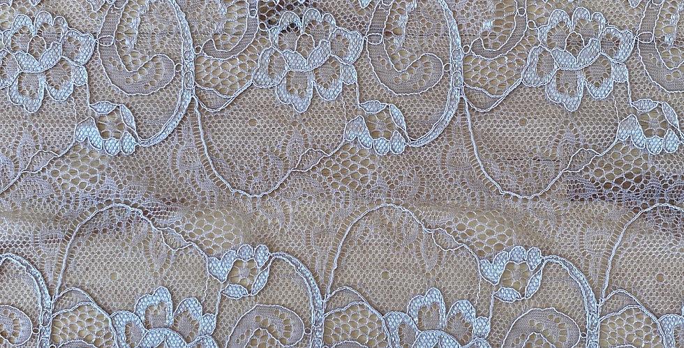 Danny dusty mocha mauve stretch lace