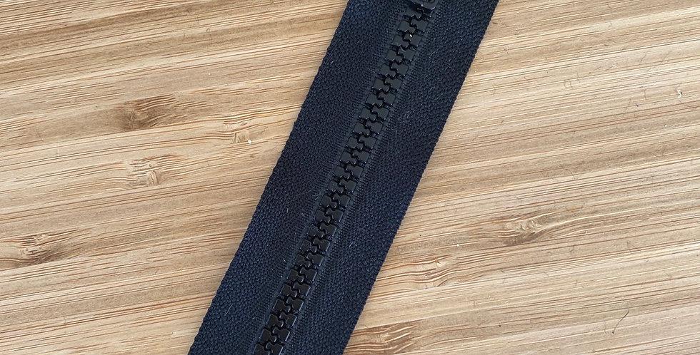 15cm black swimwear zip