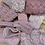 Thumbnail: Dusty Rose Hand Dyed Vintage Lace Bundle…