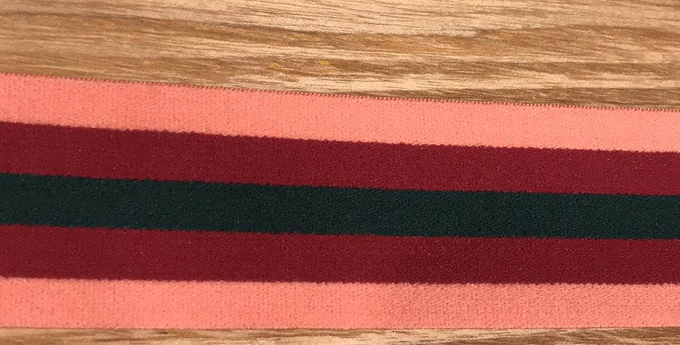 College stripe elastic