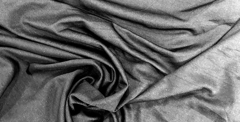 black spandex knit remnant