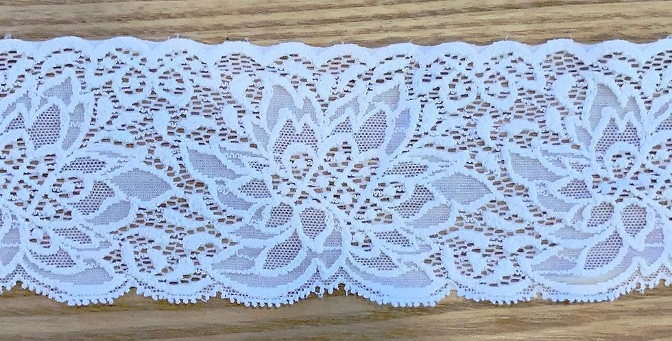 Ivory Native Stretch Lace...