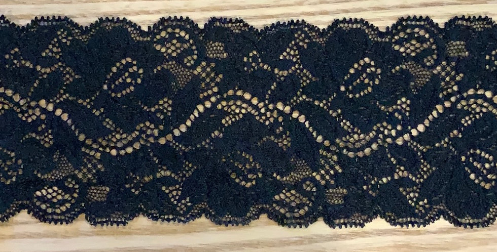 Abigail Black Stretch Lace...