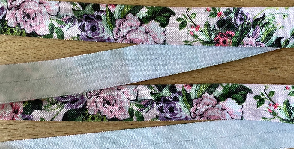 Lily's garden fold over elastic
