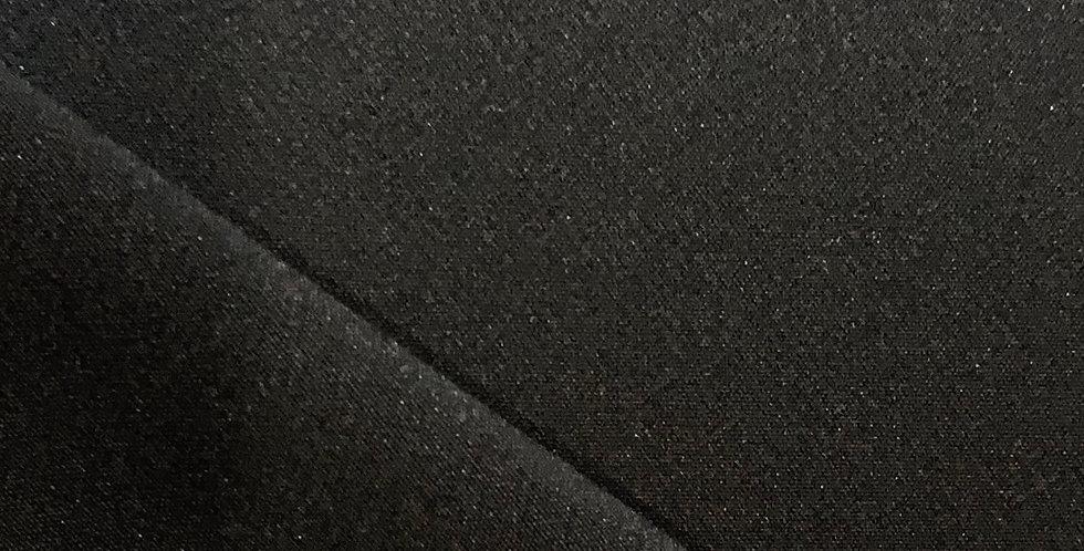 Pretoria Black Polyester Spandex Stretch Suiting....