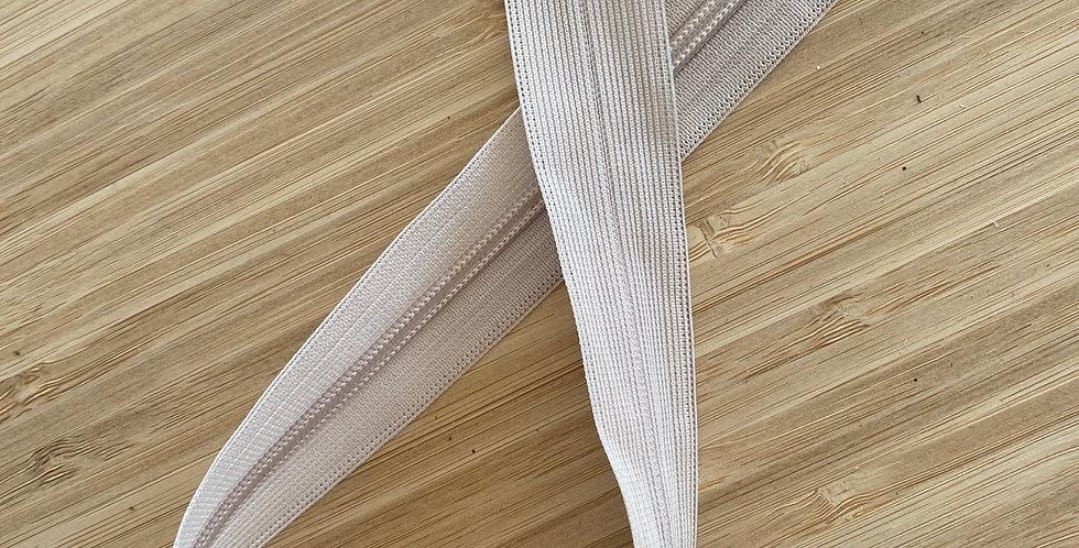 40cm beige invisible zip