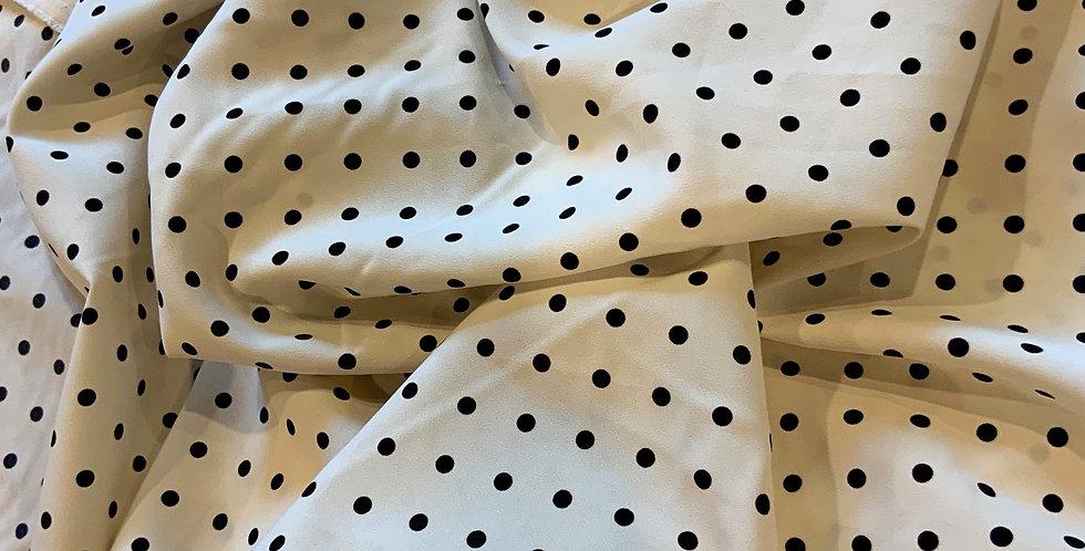 Victoria Polka Dot Polyester....