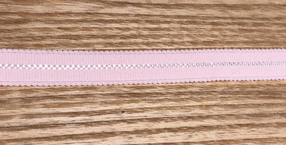 Ballet pink decorative plush elastic