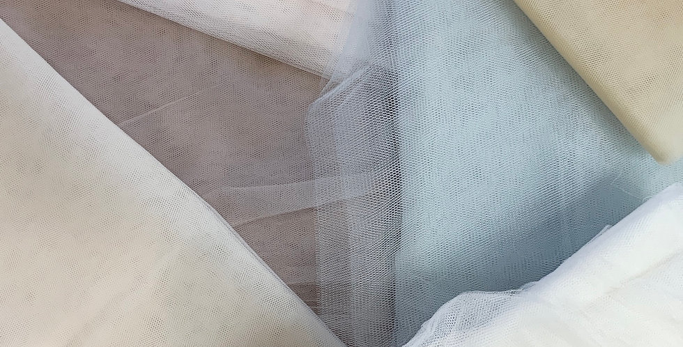 5mtrs Assorted Bridal Tulle #3