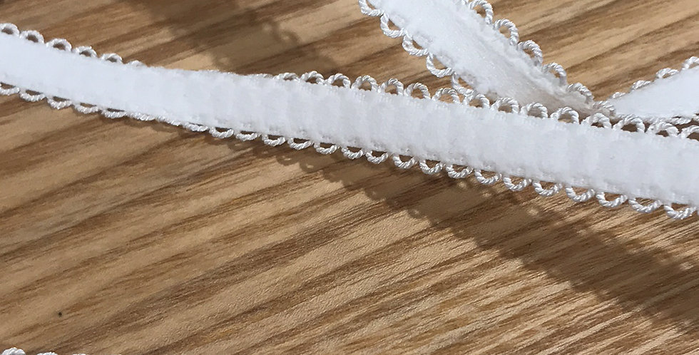 White picket edge strapping