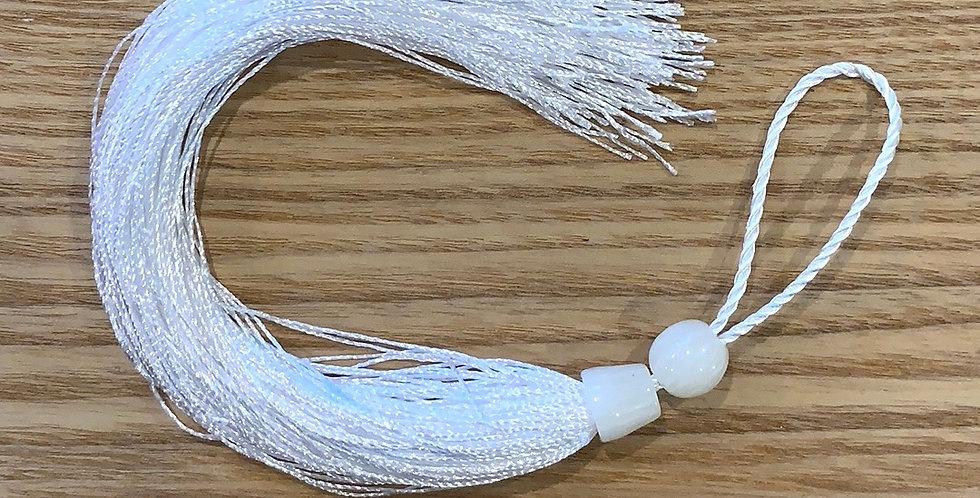 White Long Tassel