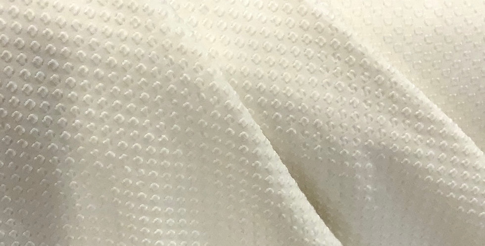 Ivory Soft Bubble Knit Textured Jersey....