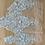 Thumbnail: Pale aqua embroidered lace piece 2