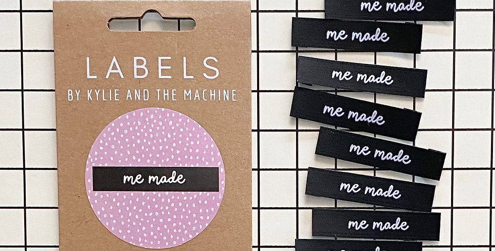 KATM me made woven label