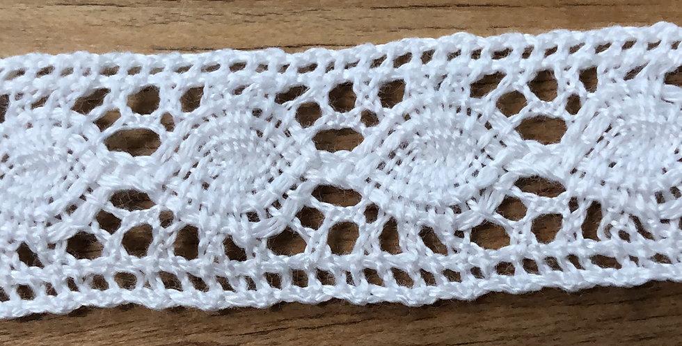Aisha crochet lace trim