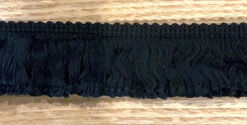 Black Cotton Fringe....