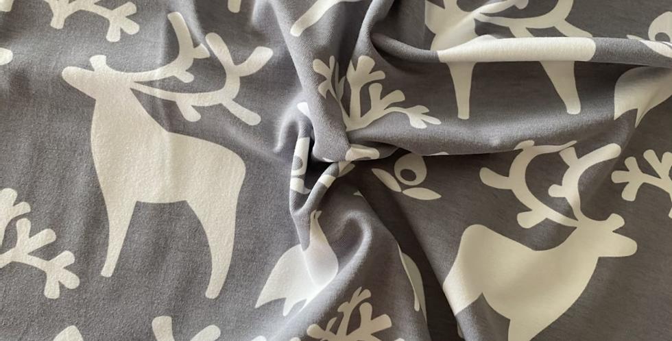 Reindeer Paapii organic jersey grey